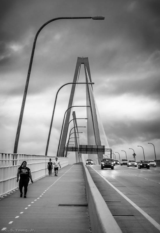 Ravenel Bridge Composition 2